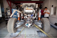 Buggy for rally-raid